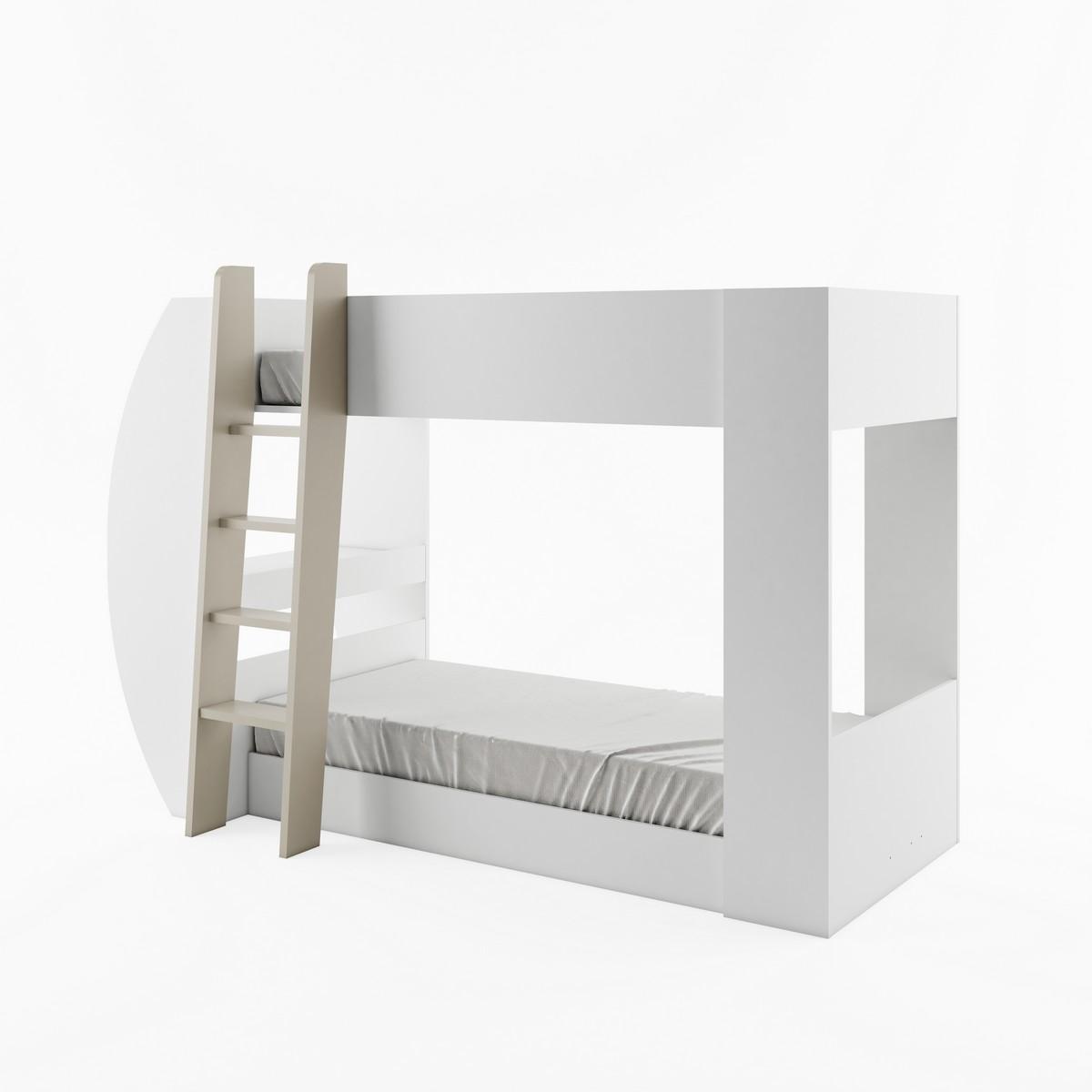 etagenbett multifunktions bett hochbett jerry mit matratzen ebay. Black Bedroom Furniture Sets. Home Design Ideas