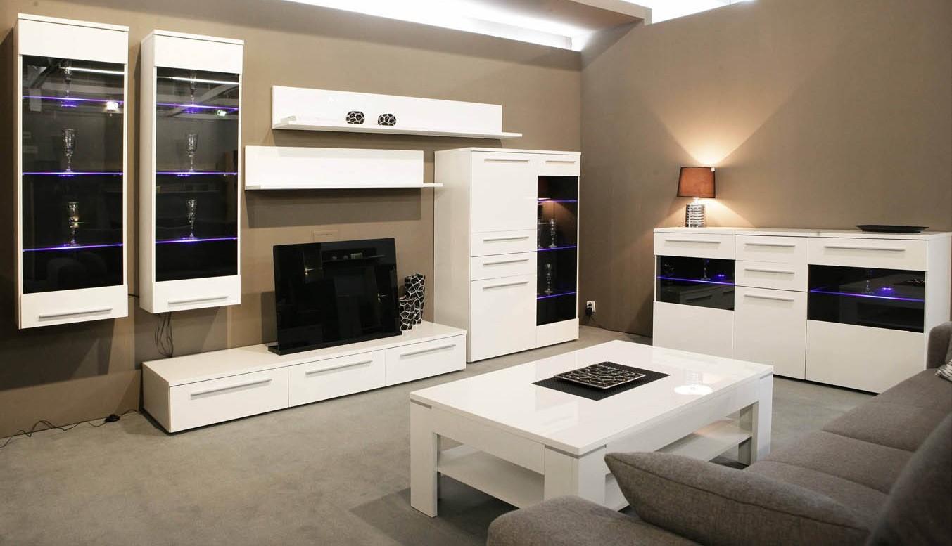 Мебель Для Гостиной Модульная Глянец