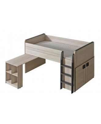 GUMI - Łóżko + szafka + biurko